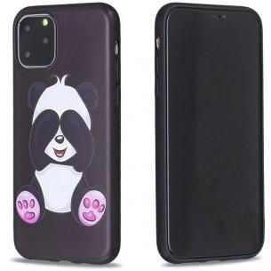 iPhone 11 Pro - Coque Silicone avec Motif Panda