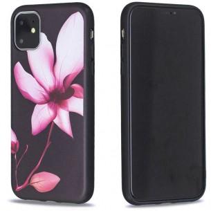 iPhone 11 - Coque Silicone avec Motif Fleur de Lotus