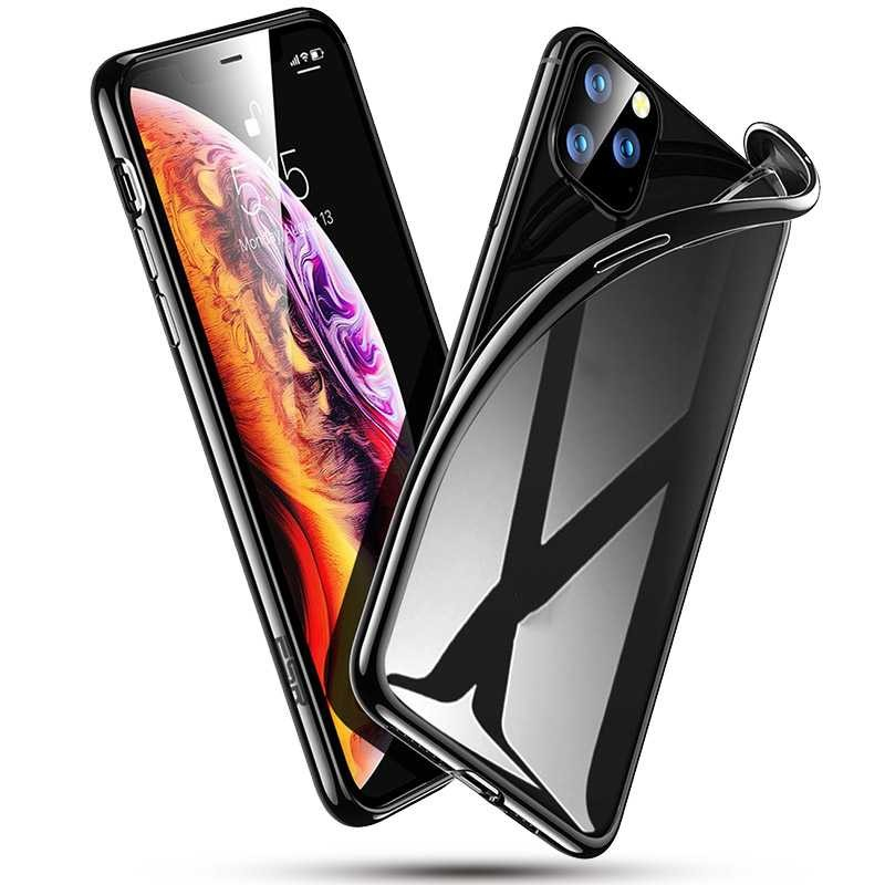 coque iphone xr transparente contour couleur