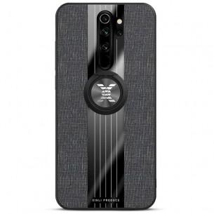 Redmi Note 8 Pro - Coque Chevalet XINLI Revêtement Tissu Tweed