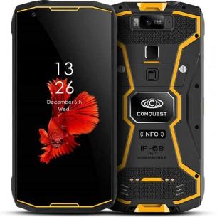 Smartphone CONQUEST S12 Pro - Écran 5,99' FHD+ OctaCore Ram 4/6GB Rom 64/128GB Talkie-Walkie PoC/DMR - Batterie 8000 mAh