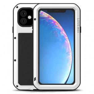iphone 11 coque lovemei powerful anti choc anti poussiere etanche projection d eau