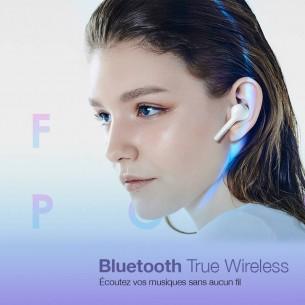 Écouteurs Bluetooth HONOR FlyPods Lite - Avec Boîtier Chargeur USB-C