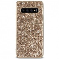 Galaxy S10 - Coque Paillettes