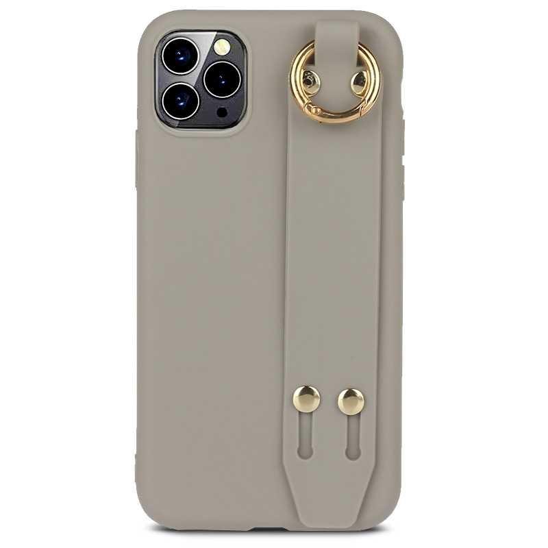 Coque Silicone avec Poignée Chevalet pour iPhone 11 Pro Max