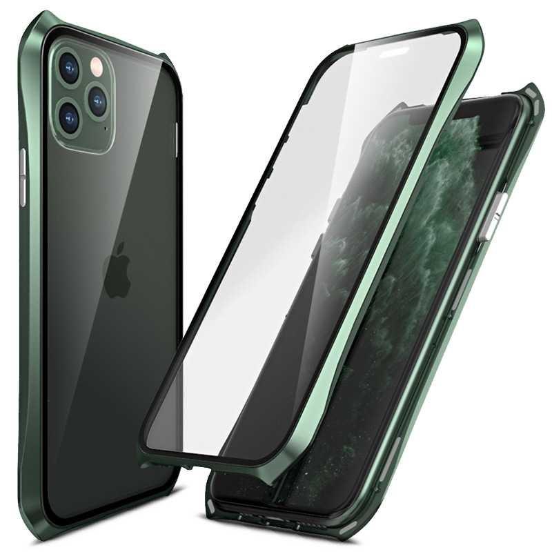 Coque iPhone 11 Pro MAXNoir Premium Solide Antichoc avec Fonction Stand Magnétique Rotation Ring Coque Compatible iPhone 11 Pro MAX