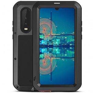 Huawei P30 - Coque LOVEMEI Powerful - Anti-choc - Anti-Poussière - Etanche Projection d'Eau