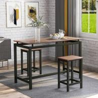 Lot Table Haute & 2...